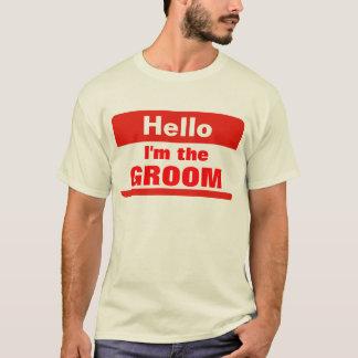 O noivo camisetas