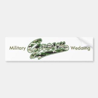 O noivo/forças armadas camufla o verde adesivo para carro
