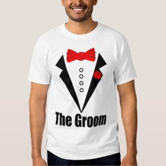 O NOIVO, noivo engraçado, despedida de solteiro, Tshirts