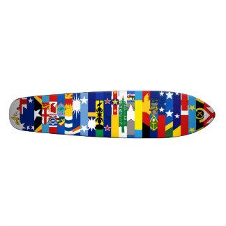 O Oceanian embandeira o skate