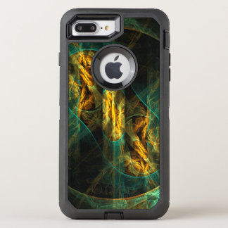 O olho da arte abstracta da selva capa para iPhone 7 plus OtterBox defender