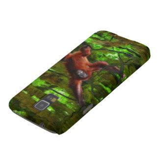 O orangotango & os animais selvagens Samsung da Capa Para Galaxy S5