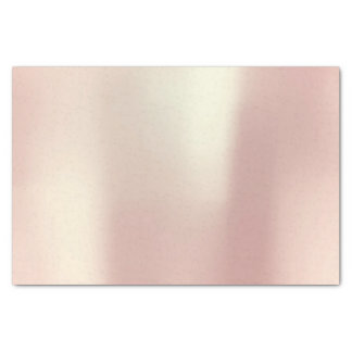O ouro do rosa do rosa cora pó metálico papel de seda