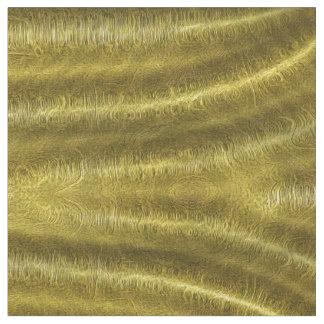 O ouro drapeja o tecido