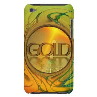 O ouro é meu mundo capa para iPod touch