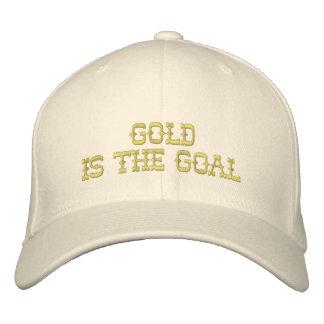 O ouro é o boné do objetivo