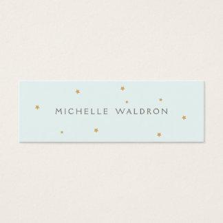 O ouro elegante simples Stars o cartão das mamães