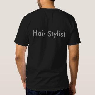 """O """"ouro Scissors"""" o t-shirt do cabeleireiro do"""