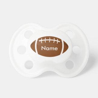 O Pacifier do bebê com futebol e pode personalizar Chupeta De Bebê