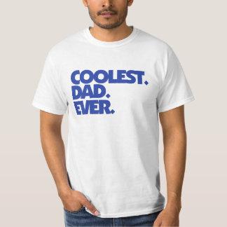 O pai o mais fresco nunca tshirts