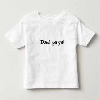 O pai paga camiseta
