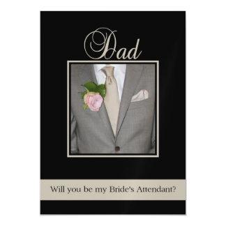 O pai seja por favor o assistente da noiva -
