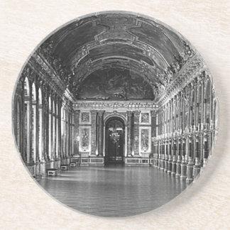 O palácio de France Versalhes do vintage espelha a Porta Copos De Arenito