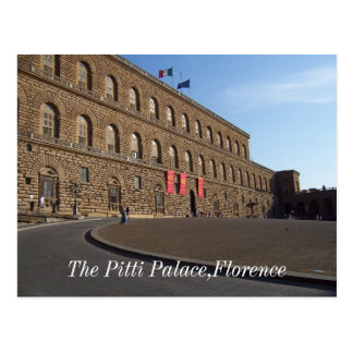 O palácio de Pitti, Florença Cartões Postais