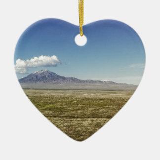 O panorama máximo 1 do piloto ornamento de cerâmica coração