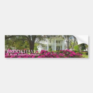O paraíso do investigador Home de Brookhaven, MS Adesivo Para Carro