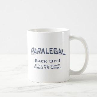 O Paralegal/desembaraça-se Caneca De Café