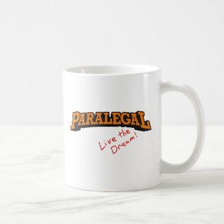O Paralegal/vive Caneca De Café