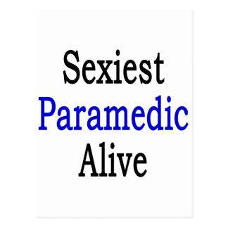 O paramédico o mais sexy vivo cartões postais