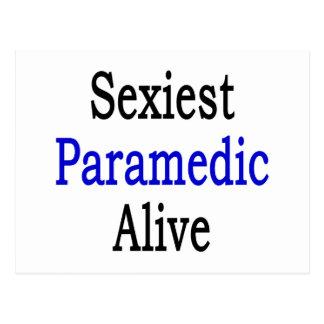 O paramédico o mais sexy vivo cartoes postais