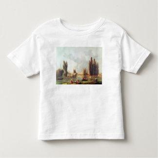 O parque e o castelo em Mereville T-shirts