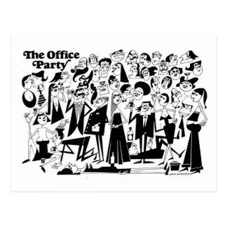 O partido de escritório cartão postal