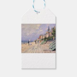 O passeio à beira mar em Trouville Claude Monet
