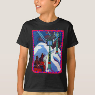O passeio do trenó por Ernst Ludwig Kirchner Camiseta