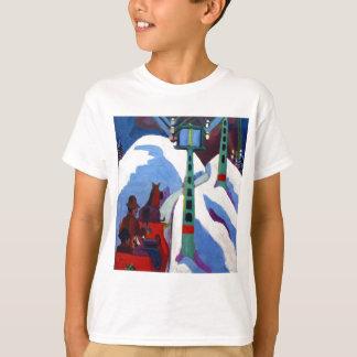 O passeio do trenó por Ernst Ludwig Kirchner T-shirt