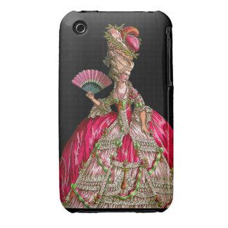 O pavão Samsung de Marie Antoinette encaixota Capas iPhone 3 Case-Mate