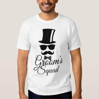 O pelotão do noivo camiseta