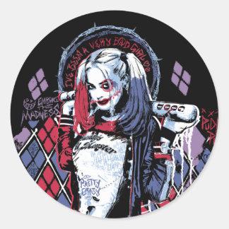 O pelotão do suicídio | Harley Quinn cobriu Adesivo