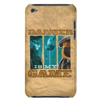 O perigo é meu jogo capa para iPod touch
