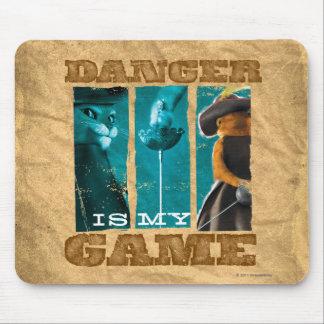 O perigo é meu jogo mousepad