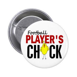 O pintinho de jogador de futebol boton