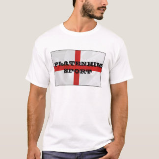 O Platenhim dos homens ostenta o Tshirt de