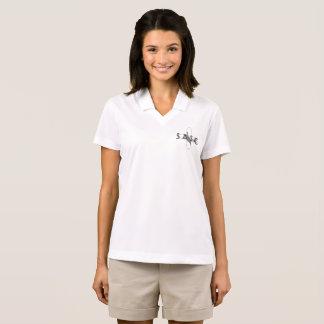 O pólo das mulheres de SASC Camisa Polo