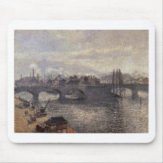 O Pont Corneille, Rouen, efeito da manhã por Camil Mousepad