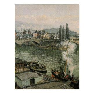 O Pont Corneille, Rouen, tempo cinzento por Camilo Cartão Postal