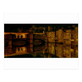 O Ponte Vecchio, Florença pela caça de William Cartão Postal