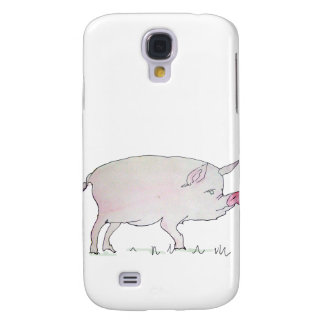 O porco galaxy s4 case