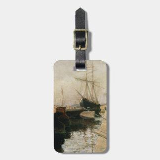 O porto de Odessa, 1900 Tag De Mala