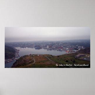 O porto de St John, poster de Terra Nova