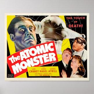 O poster atômico do monstro