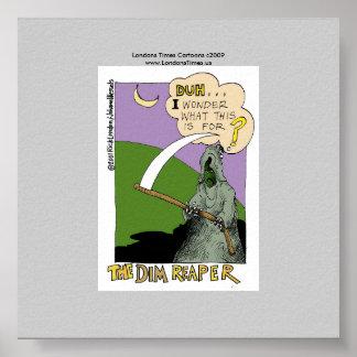 O poster Collectible do Dia das Bruxas engraçado n