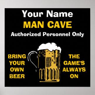O poster da caverna do homem ADICIONA SEU NOME