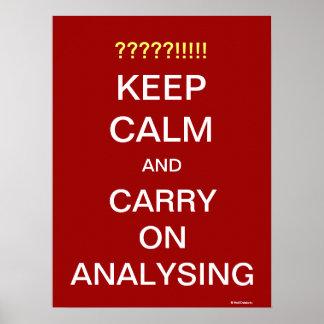 O poster das citações do analista engraçado