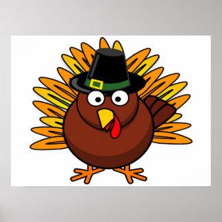 O poster de Turquia para a decoração do feriado pe Pôster