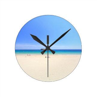 O Praia faz o pulso de disparo de parede de Relógios De Pendurar