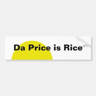 O preço da Dinamarca é arroz Adesivo Para Carro
